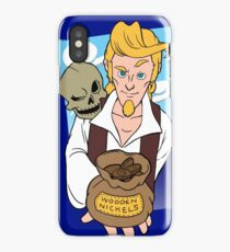 Guybrush and Murray - Monkey Island 3 iPhone Case/Skin