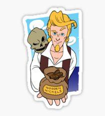 Guybrush and Murray - Monkey Island 3 Sticker