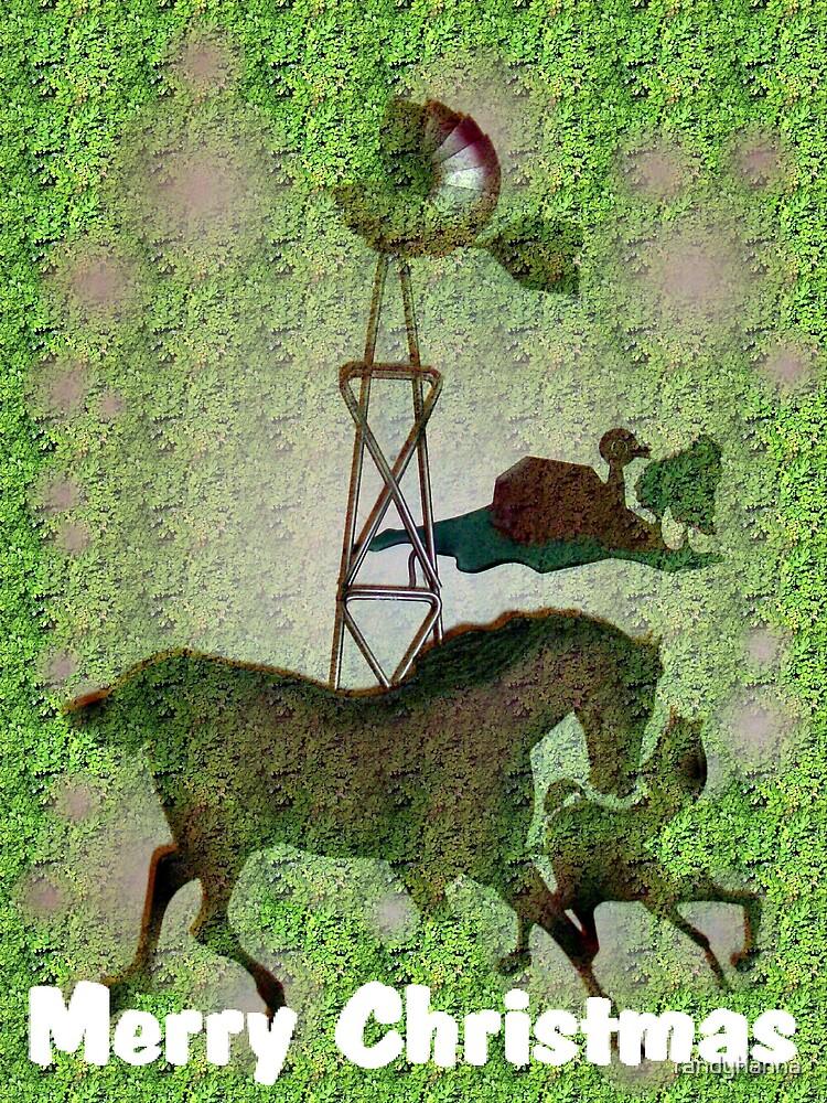 Christmas Horse by randyhanna