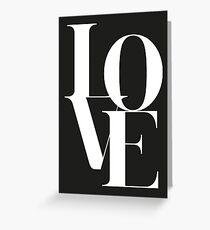 Love 01 Grußkarte
