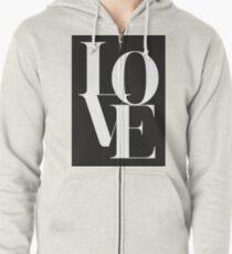 Love 01 Kapuzenjacke
