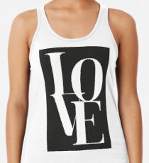 Love 01 Racerback Tank Top