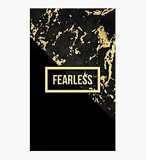 Fearless. Photographic Print