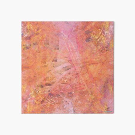 Light is metaphor - Bright abstract! Art Board Print