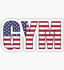 Gym Sticker