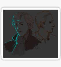 John and Sherlock Sticker