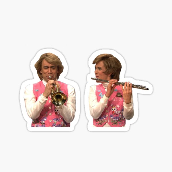 Garth and Kat  Sticker