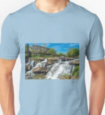 Greenville Falls in South Carolina Unisex T-Shirt