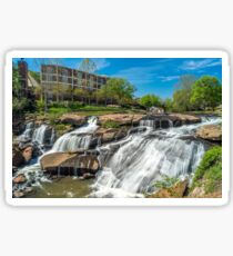 Greenville Falls in South Carolina Sticker