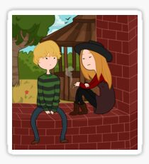 Tate and Violet [Adventure Time] Sticker