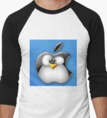 Linux Apple Men's Baseball ¾ T-Shirt
