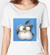 Linux Apple Women's Relaxed Fit T-Shirt
