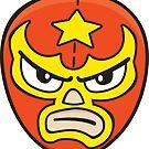 Luchador Mask 2 by DetourShirts
