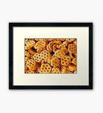 Honey Brush Framed Print