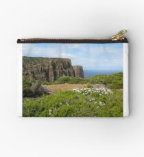 Towards end of Cape Raoul with Epacris in flower Studio Pouch