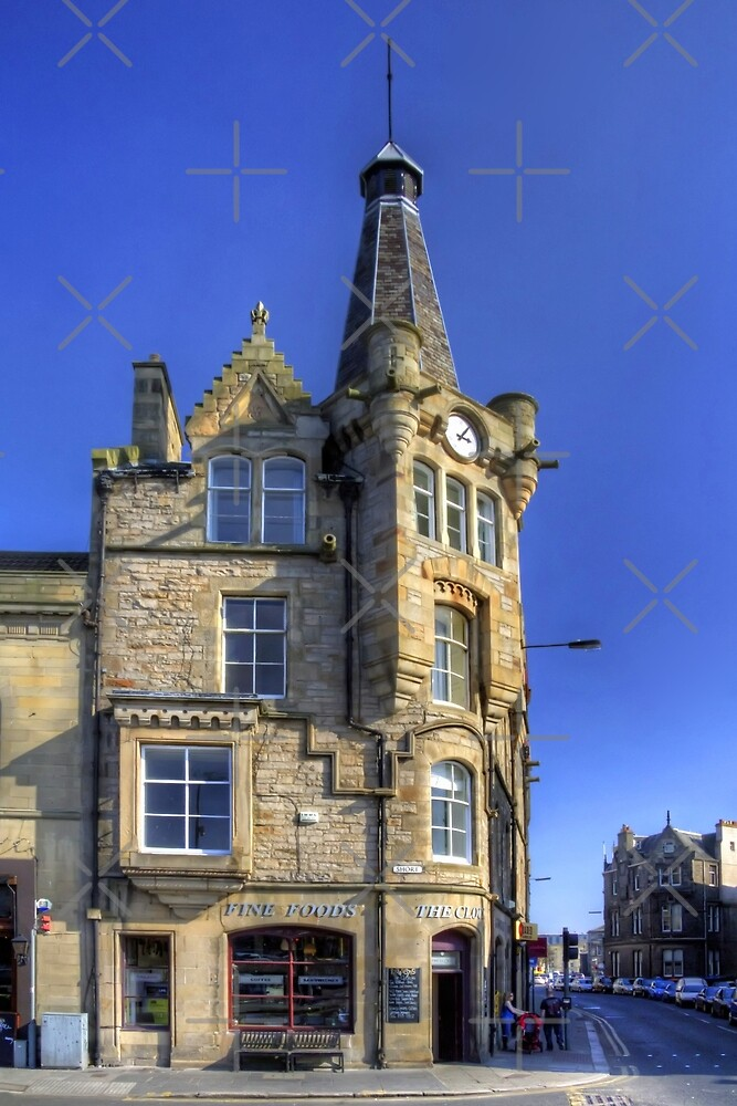 Leith Clock Building by Tom Gomez