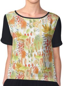RainForest Walk Chiffon Top