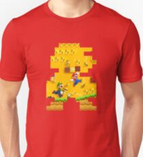 New Super Mario Bros. Pixel Art Unisex T-Shirt
