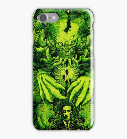 Lovecraft Cthulhu III iPhone Case/Skin