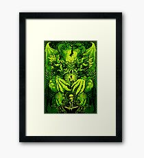 Lovecraft Cthulhu III Framed Print