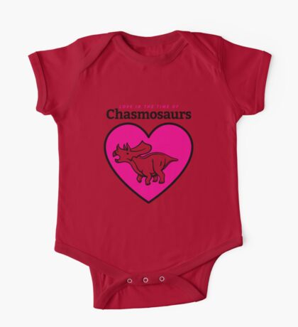 Love in the Time of Chasmosaurs logo: full color Kids Clothes
