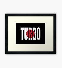 Turbo Framed Print