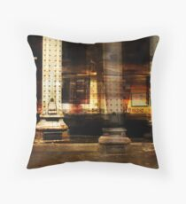 SUBWAY DREAN Throw Pillow