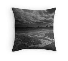 The Dog Rocks, Geelong Throw Pillow