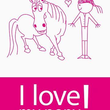 I Love My Pony by iwantapony