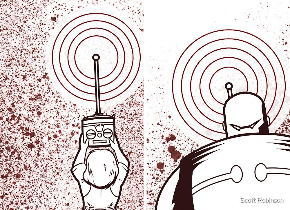 Transmitter - Receiver by Scott Robinson