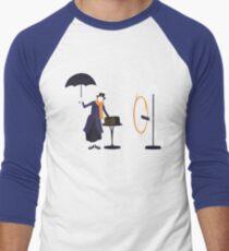 Camiseta ¾ bicolor para hombre Portal Poppins
