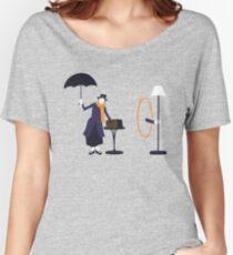 Poppins Portal Women's Relaxed Fit T-Shirt