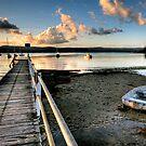 Low Tide Yattalunga by Annette Blattman