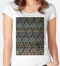 Abstract Architecture Women's Fitted Scoop T-Shirt