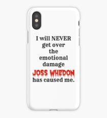 Joss Whedon iPhone Case