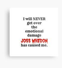 Joss Whedon Metal Print