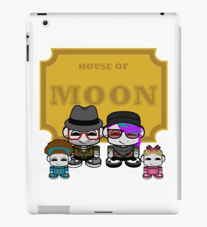 O'BABYBOT: House of Moon Family iPad Case/Skin