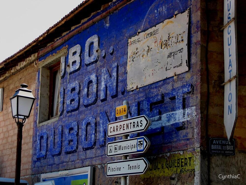 Postcard Bedoin by CynthiaC