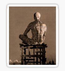 Tattooed Man Sticker