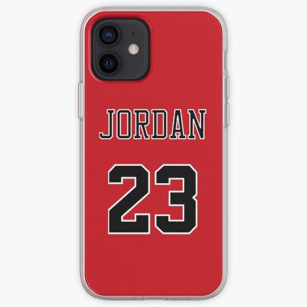 Funda para teléfono Michael Jordan 23 Jersey Funda blanda para iPhone