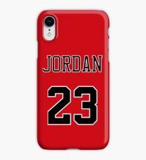 Michael Jordan 23 Jersey Phone Case iPhone XR Case
