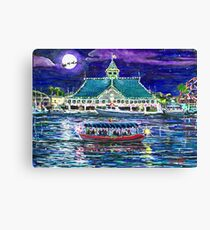 Happy Holidays From Newport Beach Canvas Print