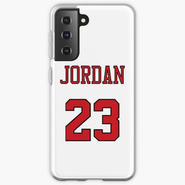 Funda para teléfono Michael Jordan 23 Jersey Funda blanda para Samsung Galaxy