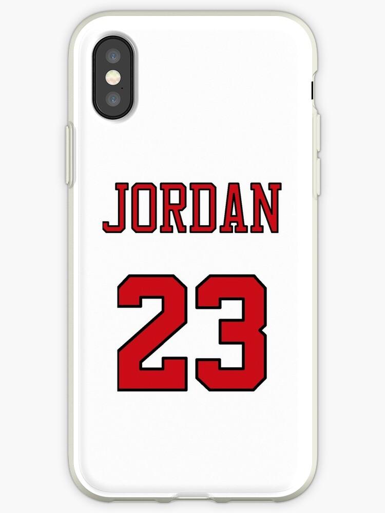 new styles b3c4d d0dde 'Michael Jordan 23 Jersey Phone Case' iPhone Case by Shaun Tayaba