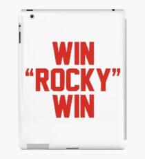 "Win ""Rocky"" Win iPad Case/Skin"