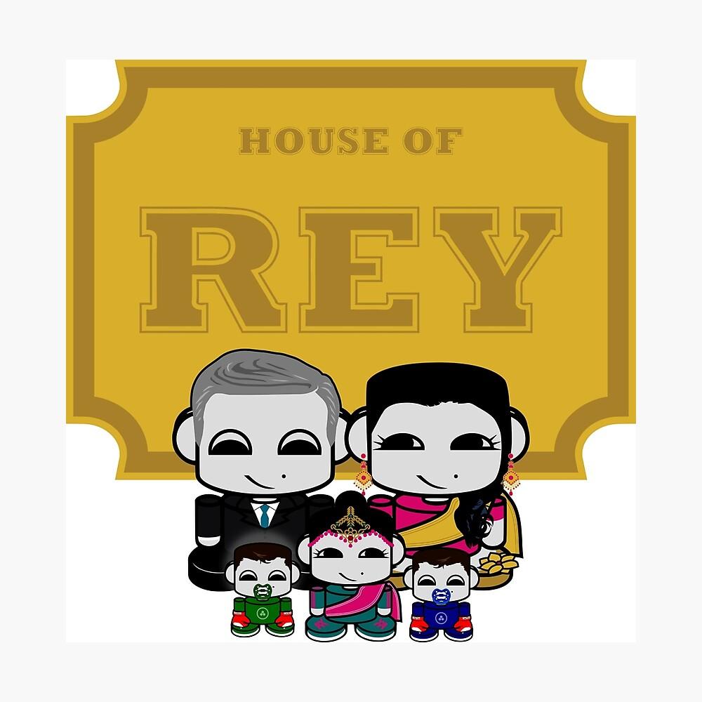 O'BABYBOT: House of Rey Family Photographic Print