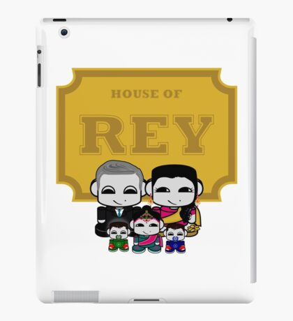 O'BABYBOT: House of Rey Family iPad Case/Skin