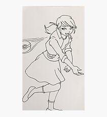Marinette Pokemon Trainer Photographic Print