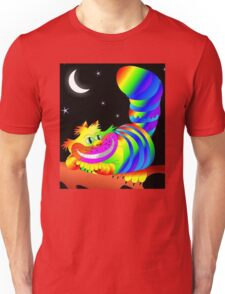 Psychedelic Cheshire Cat  Unisex T-Shirt