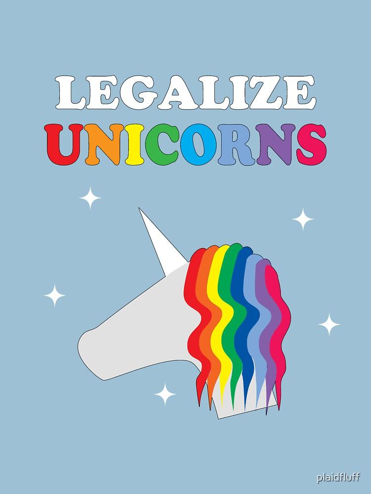 Legalize Unicorns by plaidfluff